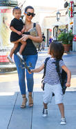 Kim Kardashian, North West and Mason Disick