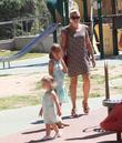 Busy Philipps, Birdie Leigh Silverstein and Cricket Pearl Silverstein