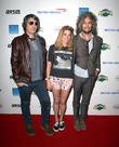 Wayne Coyne, Katy Weaver, Steven Drozd and The Flaming Lips