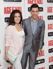 Lindsey Cole and Russell Kane