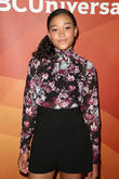Amandla Stenberg Wore Lamé to Prom and Made It Look Awesome