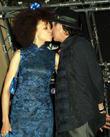 Carlos Santana and Cindy Blackman-santana