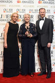 Amanda Abbington, Dame Angela Lansbury and Mark Gattis