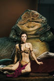 Jabba The Hutt, Princess Leia, Madame Tussauds and Star Wars
