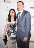 Michelle Kwan and Clay Pell