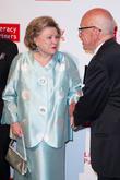 Barbara Taylor Bradford and Rupert Murdoch