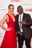 Katharina Harf and Randy Jackson