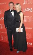 Viveca Paulin and Will Ferrell