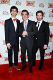 John Cariani, Brian D'arcy James and Christian Borle