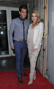 Lydia Bright and James Argent