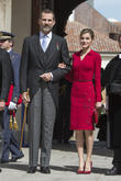 Miguel, Spain's King Felipe Vi and Queen Letizia