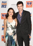 Camille Guaty and Blake Lee