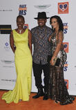 Ne-Yo, Monyetta Shaw and Loraine Smith