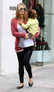 Molly Sims and Brooks Stube