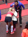 Paula Radcliffe and Isla Lough