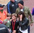 David Beckham, Victoria Beckham, Romeo Beckham and Cruz Beckham
