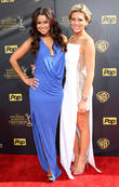 Tracey Edmonds and Charissa Thompson