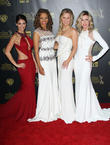 Lindsay Hartley, Chrystee Pharris, Crystal Hunt and Donna Mills