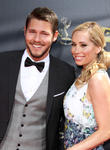 Scott Clifton and Nicole Lampson