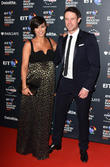 Frankie Bridge and Wayne Bridge