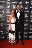 Georgie Thompson and Sir Ben Ainslie