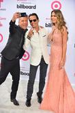 Jorge Bernal, Marc Anthony and Shannon de Lima