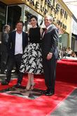 Michael J. Fox, Julianna Margulies and Les Moonves