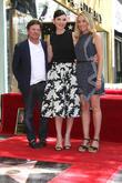 Michael J. Fox, Julianna Margulies and Tracy Pollan
