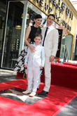 Julianna Margulies, Kieran Lieberthal and Keith Lieberthal