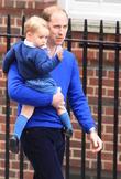 Prince William, Duke Of Cambridge and Prince George