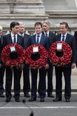 Nick Clegg, David Cameron and David Miliband