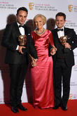 Anthony McPartlin, Declan Donnelly and Mary Berry