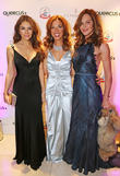 Elizabeth Hurley, Heather Kerzner and Trinny Woodall