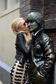 Paris Hilton and John Lennon
