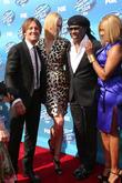 Keith Urban, Nicole Kidman and Nile Rodgers
