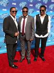 Tito Jackson, Jackie Jackson and Marlon Jackson