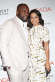 Malik Yoba and Rosario Dawson