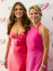 Elizabeth Hurley and Amy Robach