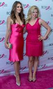 Elizabeth Hurley and Megan Hilty
