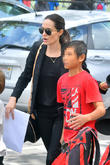 Angelina Jolie and Pax Jolie-Pitt