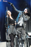 Motionless In White and Dessa Poljak