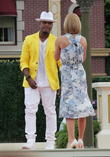 Kelly Ripa and Ne-Yo