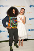 Reggie Watts and Rachel Skarsten