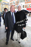 Julian Fellowes and Emma Joy Kitchener