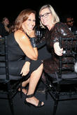 Donna Karan and Chantal Gaemperle
