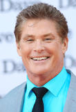 David Hasselhoff Suffering Broken Back Bone