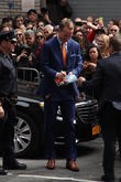 David Letterman and Payton Manning