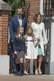 King Felipe Vi Of Spain, Princess Sofia Of Spain, Princess Leonor Of Spain and Queen Letizia Of Spain