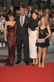 Carla Gugino, Dwayne Johnson, Alexandra Daddario and Kylie Minogue