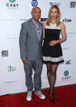 Russell Simmons and Mira Sorvino